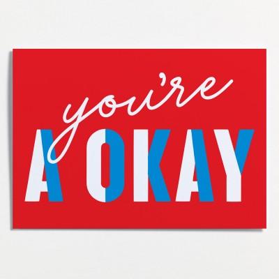 Crispin Finn Greeting Card - You're A-Okay