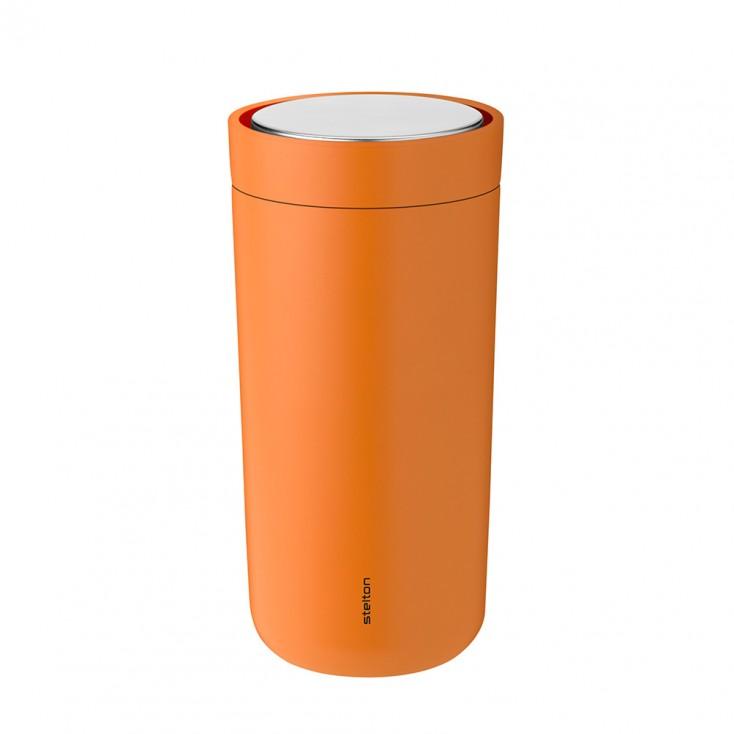 Stelton To Go Click Thermo Cup 0.4 L - Soft Orange