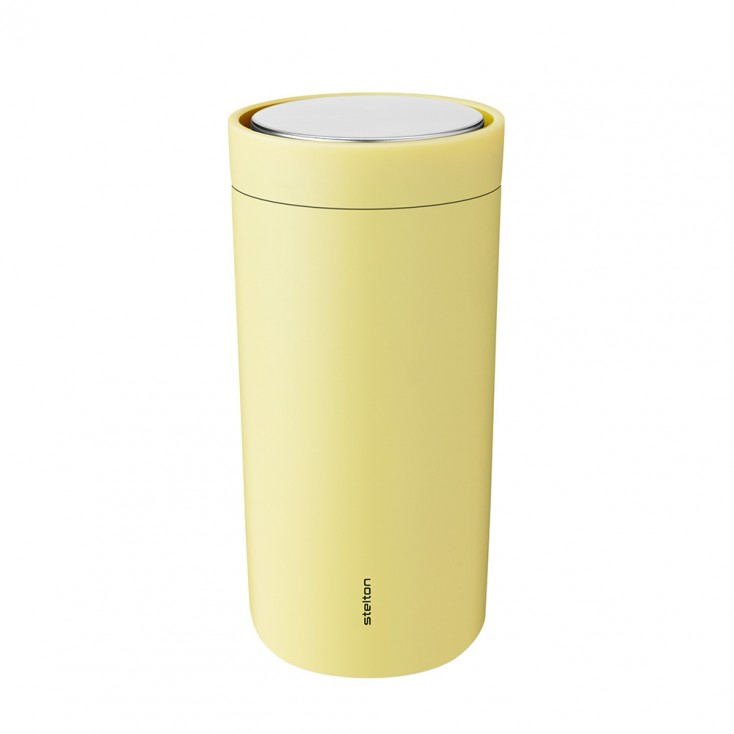 Stelton To Go Click Thermo Cup 0.4 L - Soft Yellow