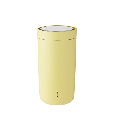 Stelton To Go Click Thermo Cup 0.2 L - Soft Yellow