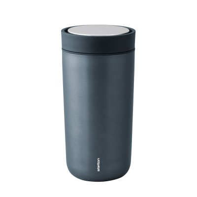 Stelton To Go Click Thermo Cup 0.4 L - Metallic Blue