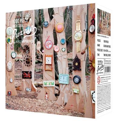 Clocks & Trees 1000 Piece Jigsaw Puzzle