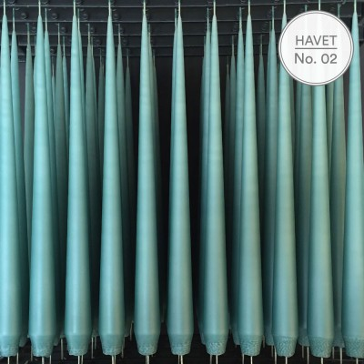 Ester & Erik 32 cm Tapered Candle - Havet 02