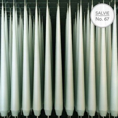 Ester & Erik 32 cm Tapered Candle - Salvie 67
