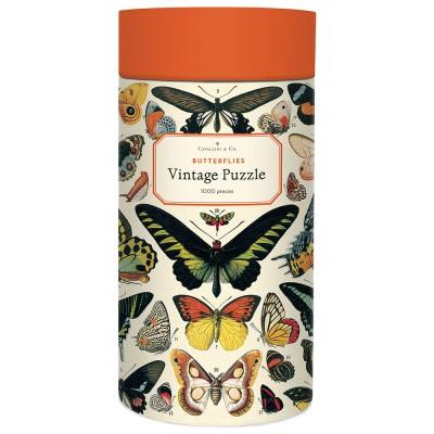 Cavallini & Co Butterflies 1000 Piece Vintage Puzzle