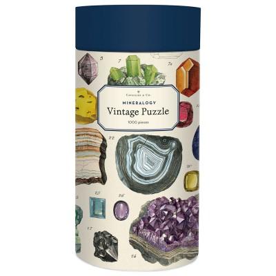 Cavallini & Co Mineralogy 1000 Piece Vintage Puzzle