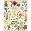Cavallini & Co Wildflowers 1000 Piece Vintage Puzzle