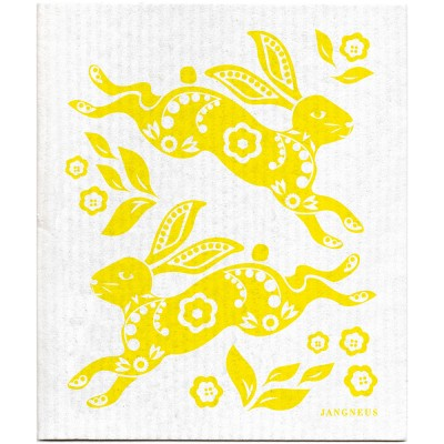 Jangneus Dishcloth - Yellow Hare