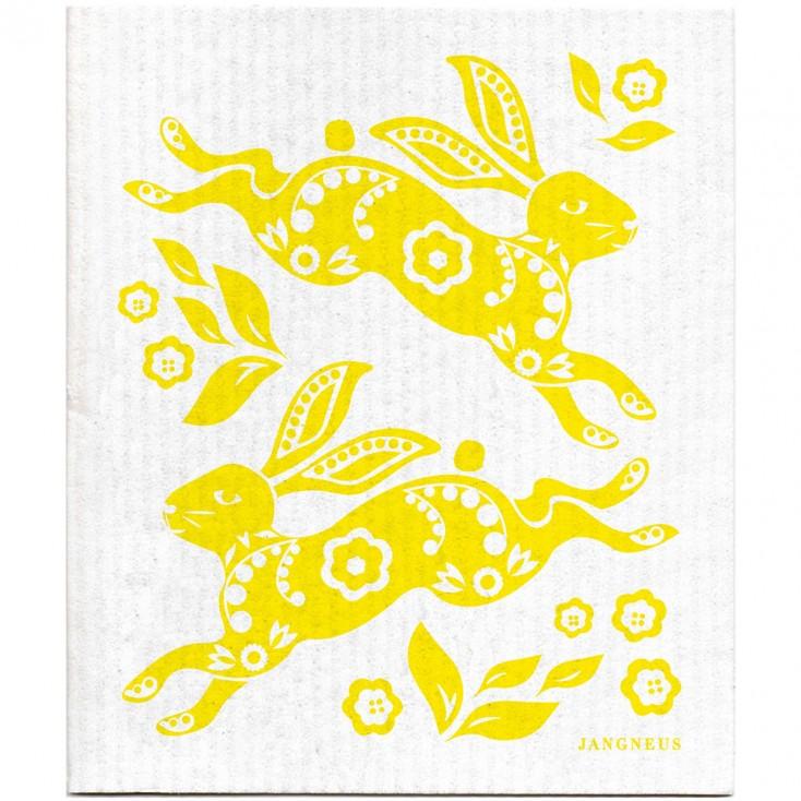 Jangneus Dishcloth - Yellow Hare