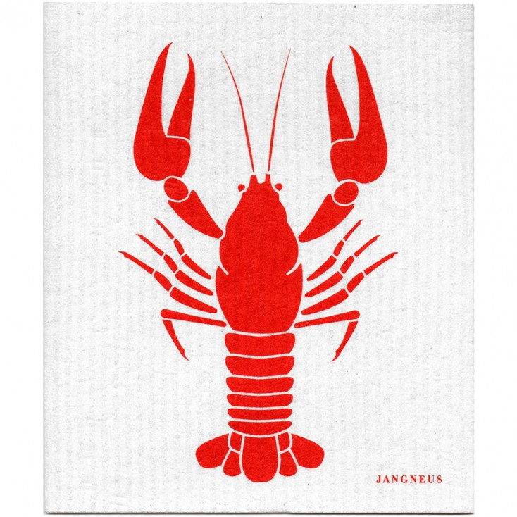 Jangneus Dishcloth - Red Crayfish