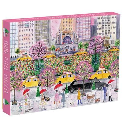 Spring on Park Avenue 1000 Piece Puzzle