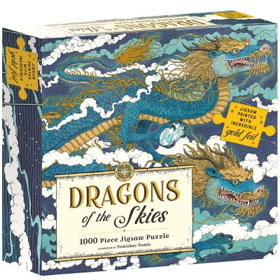 Dragons of the Skies 1000 Piece Foiled Puzzle