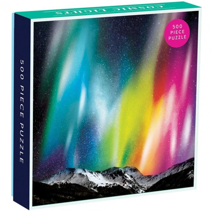 Cosmic Lights 500 Piece Jigsaw