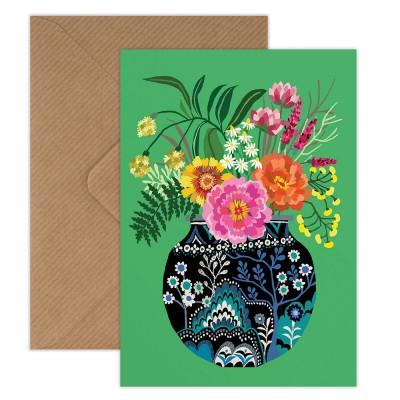 Brie Harrison Greeting Card - Fleurs