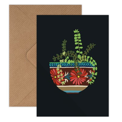 Brie Harrison Greeting Card - Mexican Bowl