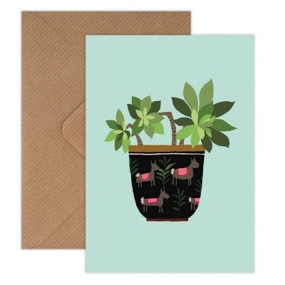 Brie Harrison Greeting Card - Succulent