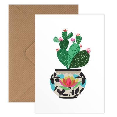 Brie Harrison Greeting Card - Cactus
