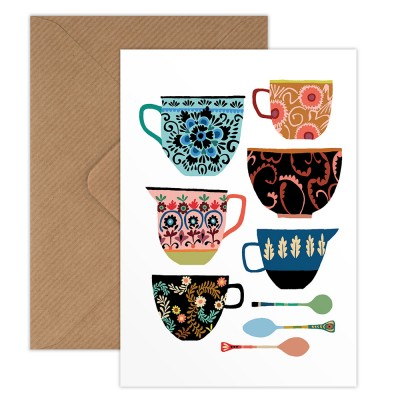 Brie Harrison Greeting Card - Folk Collection
