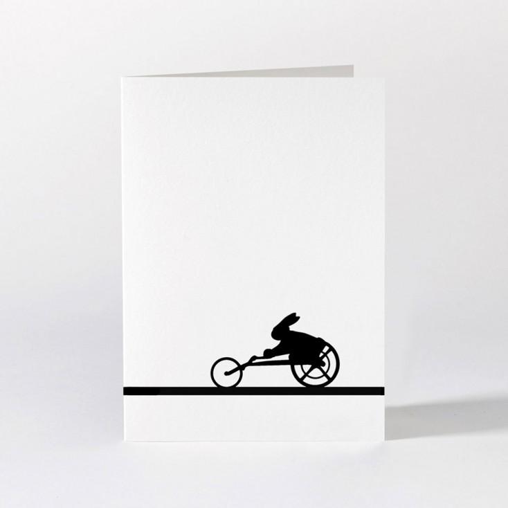 Ham Greeting Card - Paralympic Rabbit