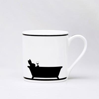 Ham Bathtime Rabbit Mug