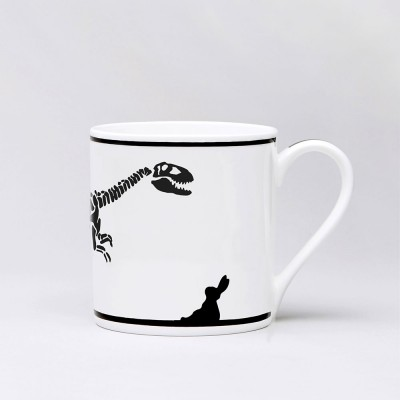 Ham Dinosaur Rabbit Mug