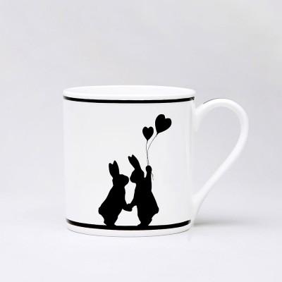 Ham Lovestruck Rabbit Mug