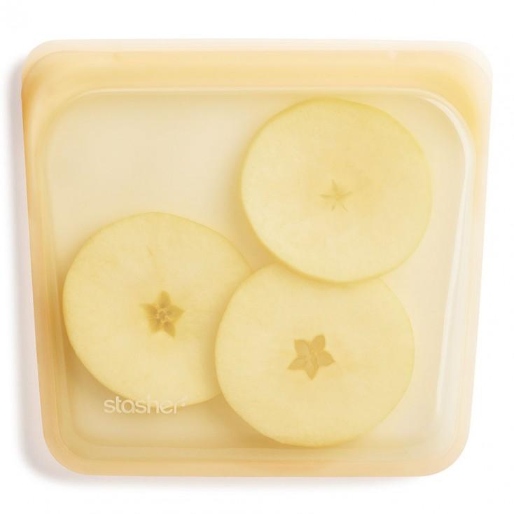 Stasher Reusable Silicone Bag - Sandwich Pineapple