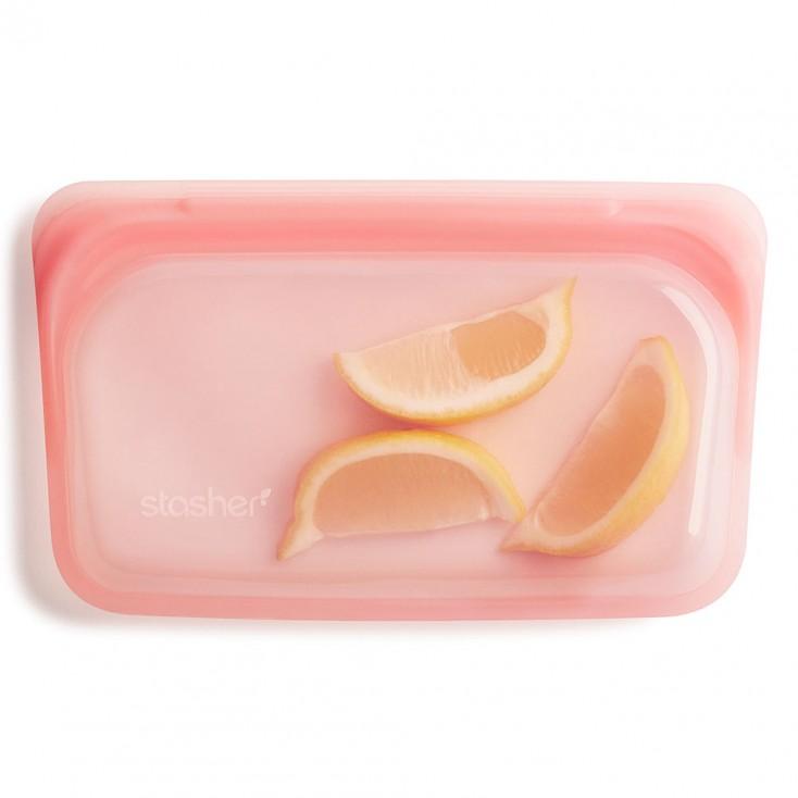 Stasher Reusable Silicone Bag - Snack Guava