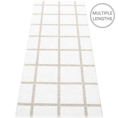 Pappelina White Ada Runner - 70 x 225 cm