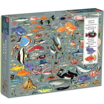 Deepest Dive 1000 Piece Jigsaw With Shaped Pieces