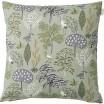 Scandinavian Fabric - Spira Flora Green Cushion