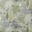 Scandinavian Fabric - Spira Flora Green