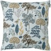 Scandinavian Fabric - Spira Flora Blue Cushion