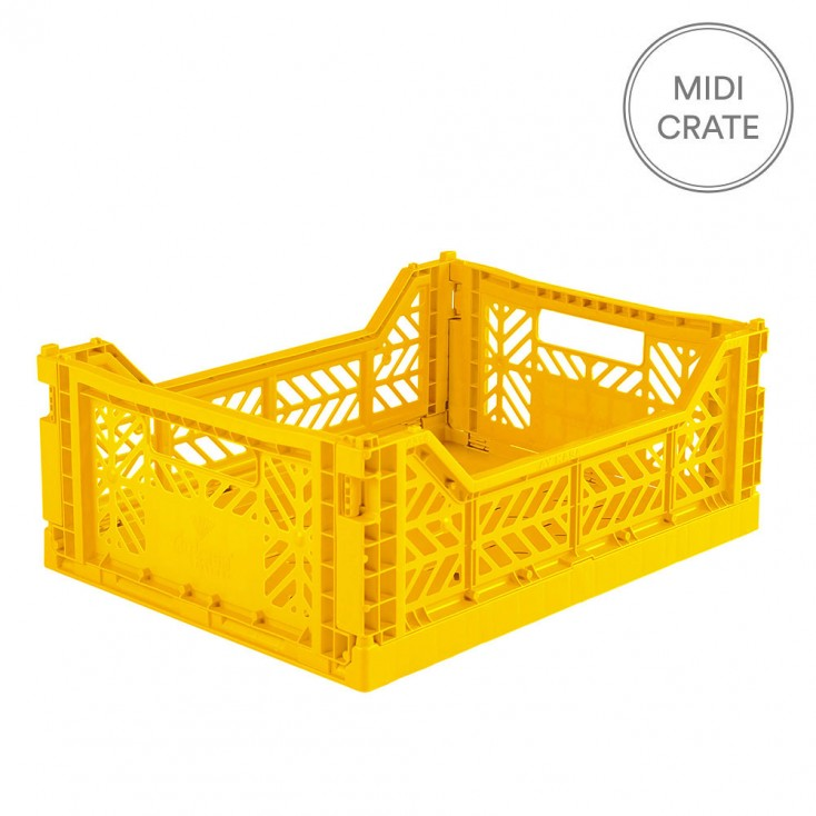 Aykasa Folding Crate Midi - Yellow