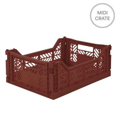 Aykasa Folding Crate Midi - Tile Red
