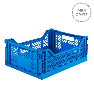 Aykasa Folding Crate Midi - Electric Blue