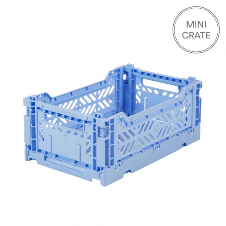 Aykasa Folding Crate Mini - Baby Blue