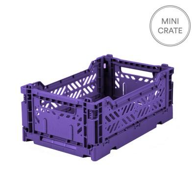 Aykasa Folding Crate Mini - Violet