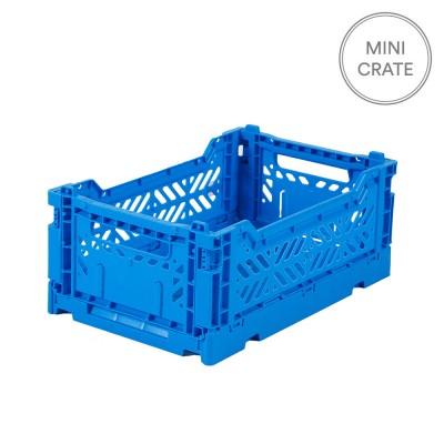 Aykasa Folding Crate Mini - Electric Blue