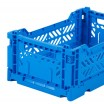 Aykasa Folding Crate Mini - Electric Blue