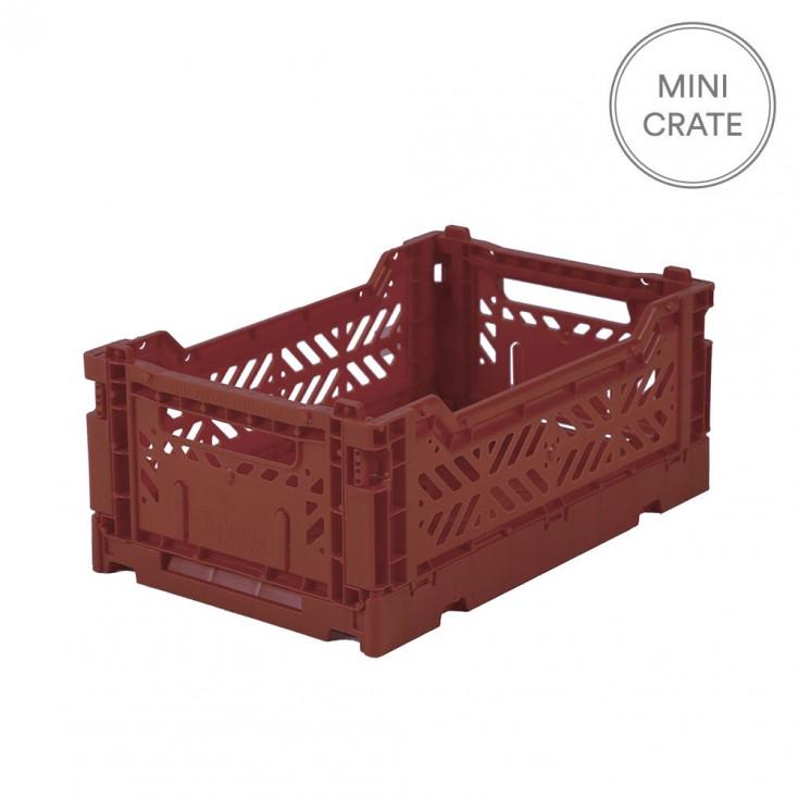 Aykasa Folding Crate Mini - Tile Red
