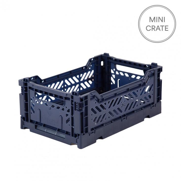 Aykasa Folding Crate Mini - Navy