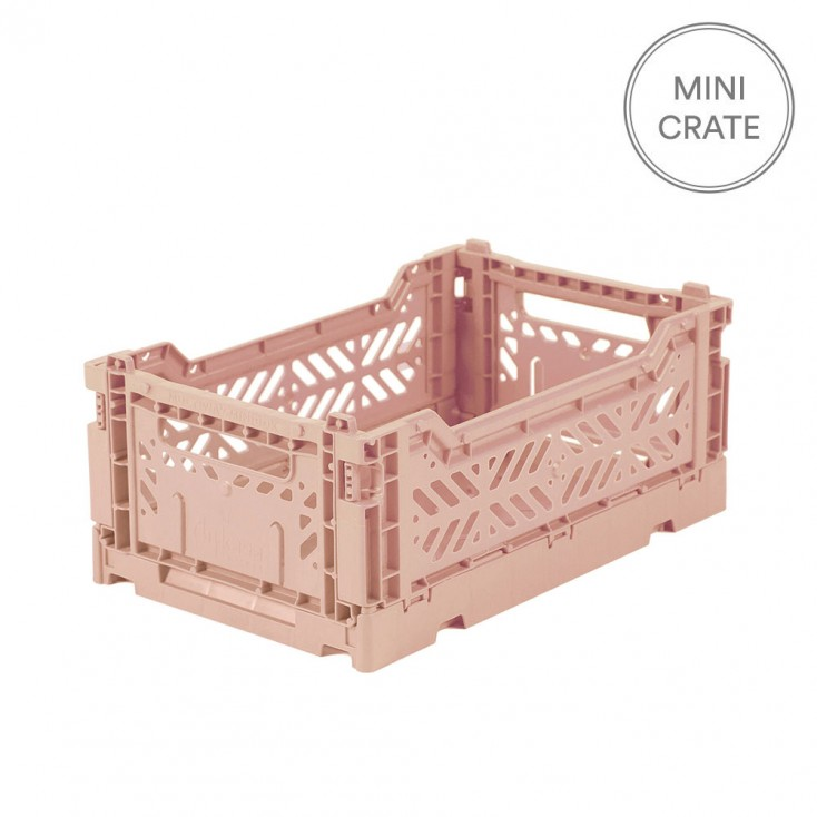 Aykasa Folding Crate Mini - Milk Tea