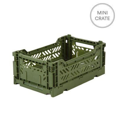 Aykasa Folding Crate Mini - Khaki