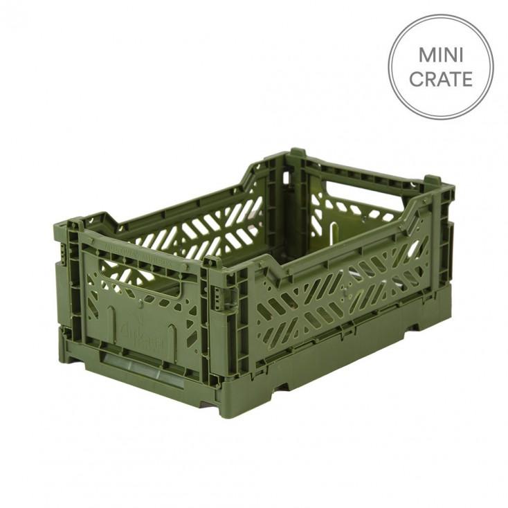 Aykasa Folding Crate Mini - Khaki