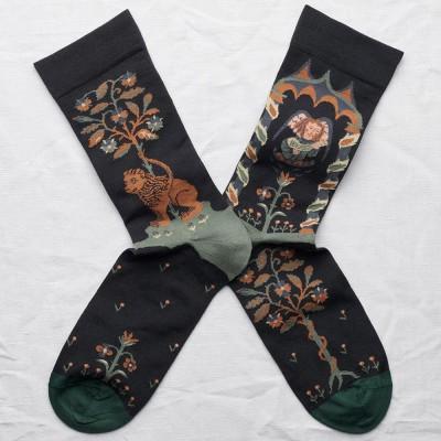 Bonne Maison Socks - Dark Angel