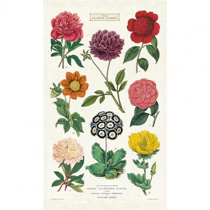 Cavallini & Co Tea Towel - Botanical