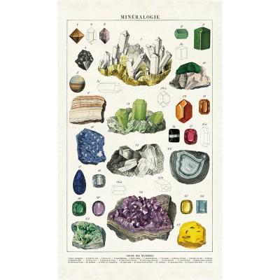 Cavallini & Co Tea Towel - Mineralogy