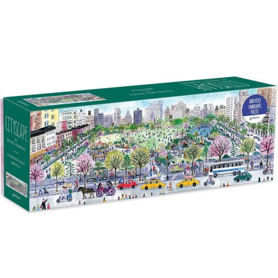 Michael Storrings Cityscape 1000 Piece Panoramic Jigsaw