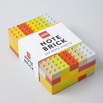 LEGO® Note Brick - Yellow & Orange